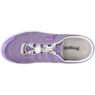 Womens Propet Travel Walker Slide Lilac Mesh