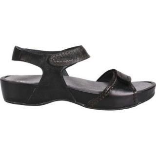 Womens Propet Violet Black/Pewter