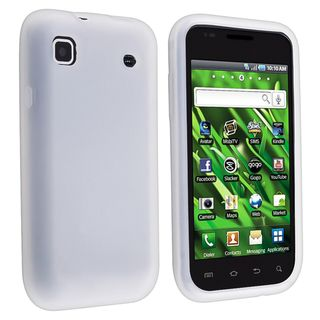 White Silicone Skin Case for Samsung Galaxy S i9000/ T959