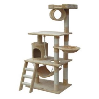 Go Pet Club Cat Tree Furniture 62 in. High   Cat Trees