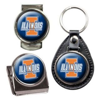 Great American NCAA Key Chain and Money Clip Set