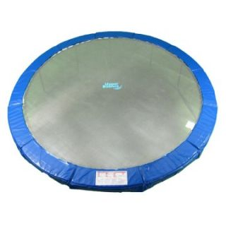 Upper Bounce 48 in. Round Trampoline Safety Pad for 8 Legs   Blue