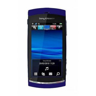 Sony Ericsson Vivaz GSM Unlocked Blue Cell Phone