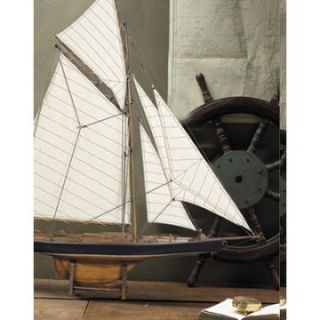 Authentic Models Americans Cup Columbia 1901 Yacht   Small   Model