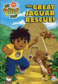 Go, Diego, Go! The Great Jaguar Rescue (DVD)