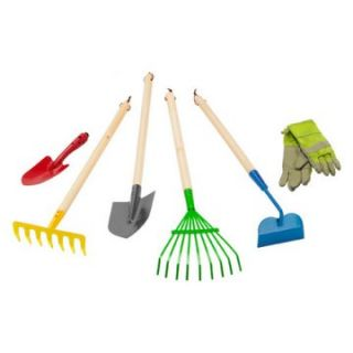 Morgan Cycle 6 pc. Junior Garden Tool Set   Kids Gardening Tools at