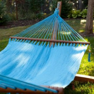 Large Grand Caribbean Nicaraguan Hammock with Spreader Bar   Hammocks