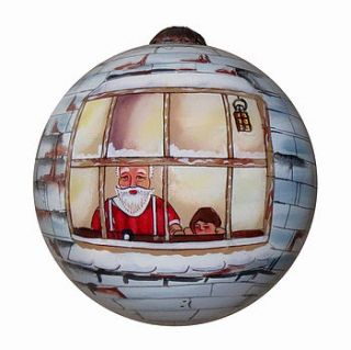 2012 hand painted christmas tree decoration by tom martin london