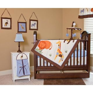 Its a Jungle Out There 12 piece Crib Bedding Set