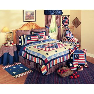 Old Glory Full/ Queen Quilt