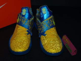 2012 Nike Zoom KD IV 4 Scoring Title Yellow Lemon US 10 5 Basketball