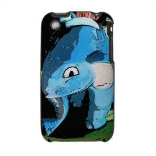 blue elephant IPOD Case