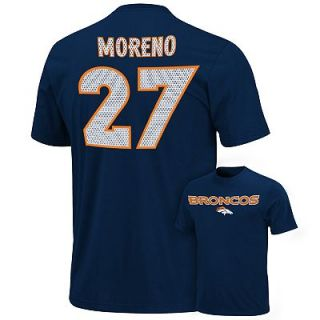Denver Broncos Knowshon Moreno Aggressive Speed Tee   Men