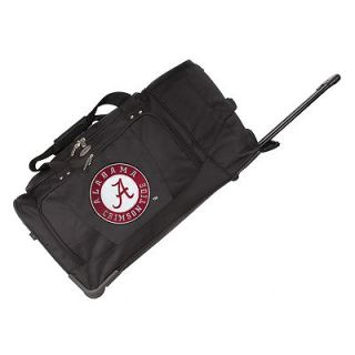 Alabama Crimson Tide 27 in. Wheeled Duffel Bag