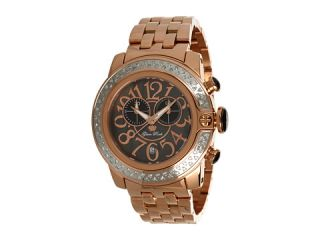 Glam Rock SoBe 44mm Rose Gold Plated Watch with Diamonds  GR32186D