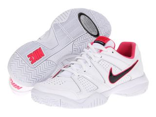 Nike Kids City Court 7 (Youth) White/Hyper Red/Dynamic Pink/Dark