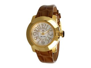 Glam Rock Lady SoBe 40mm Gold Plated Watch with Patent Strap  GR31010