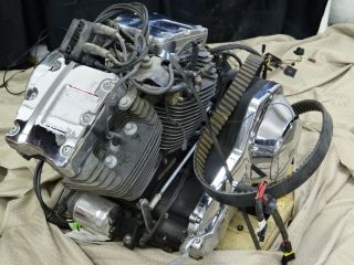 Harley Davidson Motorcycle Engine 1999