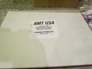 AMT Mercury RC Jet Engine Turbine AMT USA with ASU No Reserve