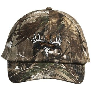 Browning Deer Skull and Rack Ball Cap (For Men and Women)   Save 54%