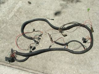 JEEP CJ CJ5 CJ7 ENGINE WIRING HARNESS RAT ROD