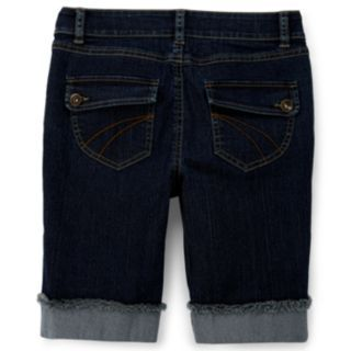 Arizona Denim Bermuda Shorts   Girls 7 16