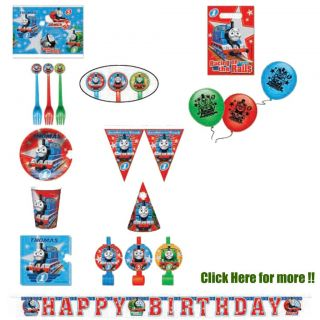 Thomas Friends Train Tank Engine Birthday Party Plastic Table Cover