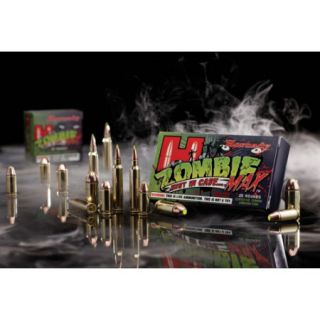 Hornady Z Max Zombie Max Ammo 9mm Luger 115 Gr.