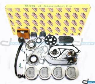 Toyota Tacoma 2 4L DOHC 16V Overhaul Engine Kit 2RZFE
