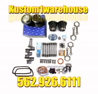VW 1600cc Volkswagen Engine Rebuild Kit 85 5 X 69 Bug Super Beetle