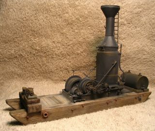 Wiseman Willamette Humbolt Yarder Logging Donkey Engine Kit