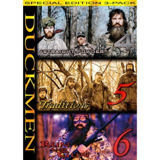 Duck Commanders Duckmen 4 5 6 Combo DVD