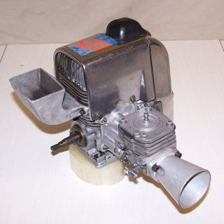 Vintage Kart Motor McCulloch MC 101AA Racing Engine