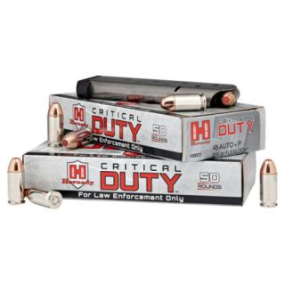Hornady Critical DUTY 9mm Luger+P 135 gr Ammo