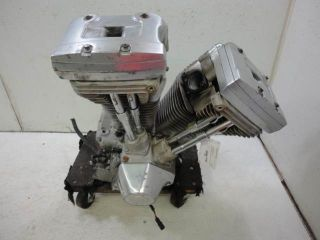 90 Harley Davidson Touring FLHS Engine Motor EVO Evolution 1340 80