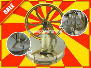 Low Temperature Stirling Engine Motor Steam Heat Education Model Toy