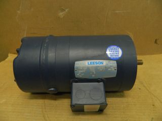 Leeson Electric Motor Brake 114158 00 C6T17NC194A 1 3 HP 208 230 460 V