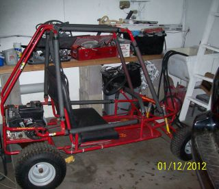 Yerf Dog Go Kart 6 HP 195cc Tecumseh® Engine