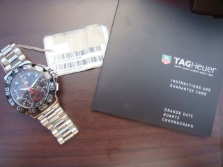 New Tag Heuer Formula One F1 Grande Date Mens Chronograph Wrist Watch