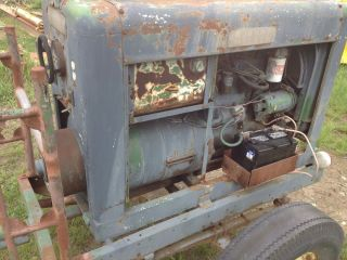 Hobart Welder Willys Gas Engine Like A SA 200