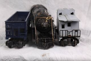 L67 Pre War Lionel 1684 Steam Engine Body 2046 Steam 1951 1953 Mixed
