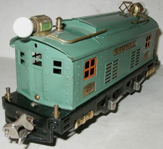 Pre War 1930s Lionel No 296 Train Set 253 Engine 607 608 Pullman EXLNT