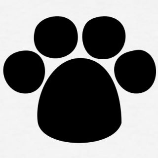 paw   dog   animal   foot   prints t shirts