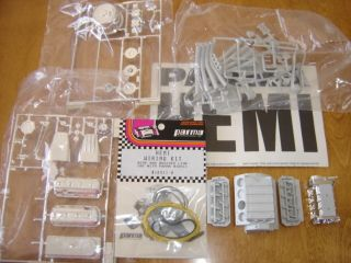 10 Parma Hemi Funny Car Dragster Engine Model Kit