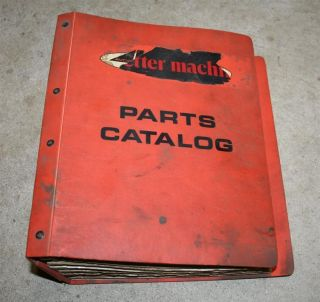 Yamaha Parts Catalog GP 643 SS 433 SR 433 Binder Vintage Lot