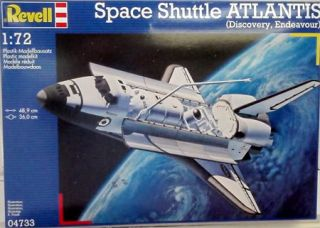 Revell Model Kit Space Shuttle Atlantis 04733 New