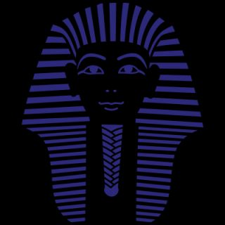 King Tut 1 Color   Pharaoh Tutankhamun T Shirt ID