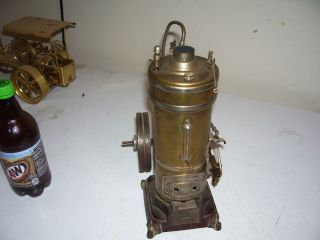 antique engine model Bing steam Engine alcohol burner engine old