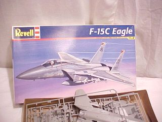 Vintage Revell Monogram 5823 1 48 F 15c Eagle Model Kit