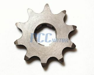 520 10 Tooth 20mm Front Engine Sprocket ATV Honda Yamaha Dirt Bike Go